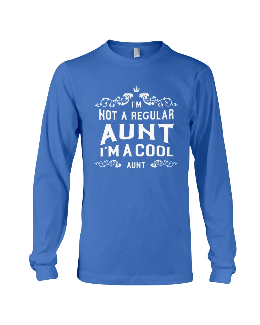 I'm a Cool Aunt Long Sleeve Tee