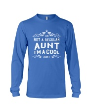 I'm a Cool Aunt Long Sleeve Tee front