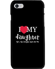 I Love My Daughter - Yes She Bought This For Me Phone Case thumbnail