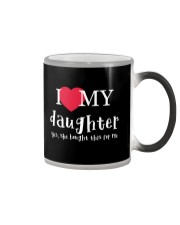 I Love My Daughter - Yes She Bought This For Me Color Changing Mug thumbnail