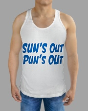 Suns Out Puns Out All-over Unisex Tank aos-tank-unisex-lifestyle01-front