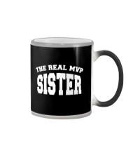 The Real MVP - sister Color Changing Mug thumbnail