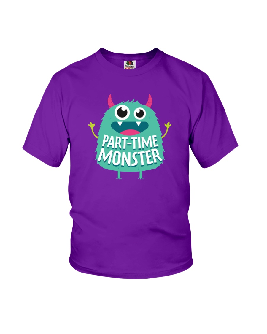 Part-time Monster Youth T-Shirt