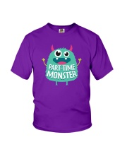 Part-time Monster Youth T-Shirt front