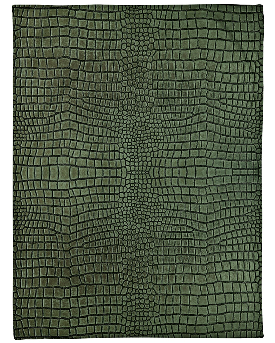 "Alligator Large Fleece Blanket - 60"" x 80"""