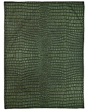 "Alligator Large Fleece Blanket - 60"" x 80"" front"