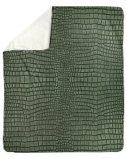 "Alligator Sherpa Fleece Blanket - 50"" x 60"" thumbnail"