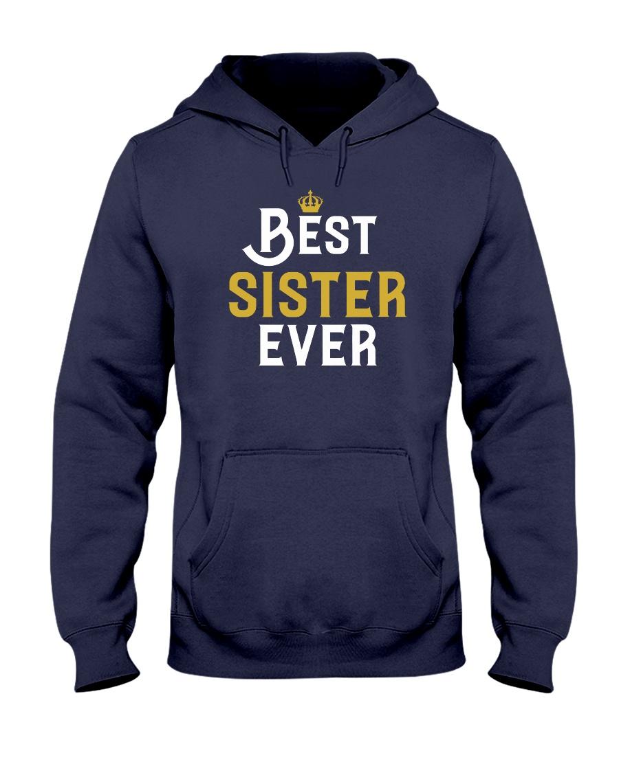 Best Sister Ever Hooded Sweatshirt