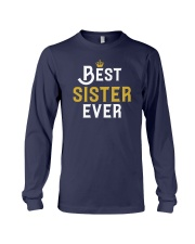 Best Sister Ever Long Sleeve Tee front