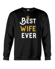 Best Wife Ever Crewneck Sweatshirt thumbnail