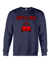 Chilling at Home Crewneck Sweatshirt tile