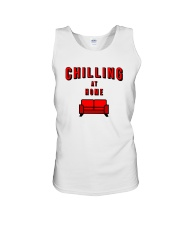 Chilling at Home Unisex Tank tile