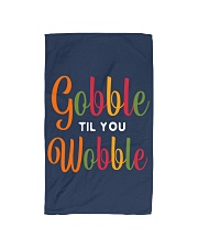 Gobble til you Wobble Hand Towel thumbnail