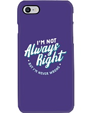 Not Always Right Phone Case thumbnail