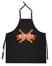 Bakers Gonna Bake Apron front