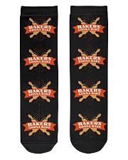 Bakers Gonna Bake Crew Length Socks front