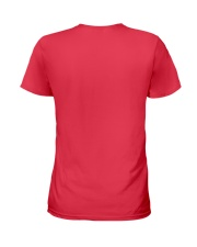 Stay at Home - Red Version Ladies T-Shirt back