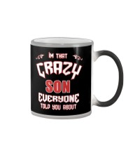 I'm That Crazy Son Color Changing Mug thumbnail