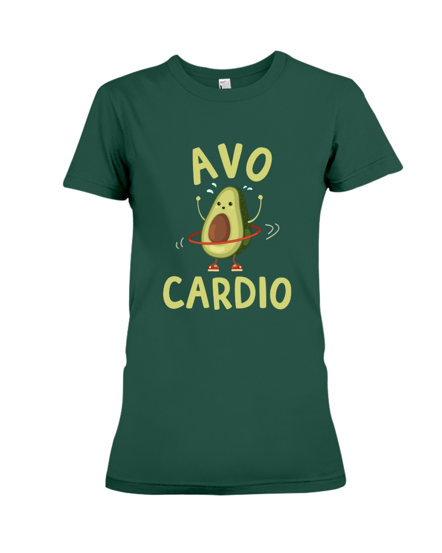 Avo-Cardio Premium Fit Ladies Tee