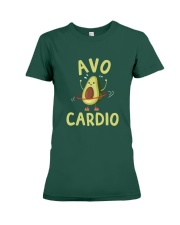 Avo-Cardio Premium Fit Ladies Tee front