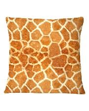 Giraffe Square Pillowcase thumbnail