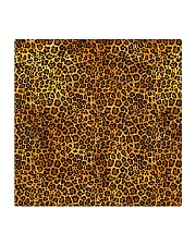 Leopard Square Coaster tile