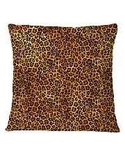 Leopard Square Pillowcase thumbnail