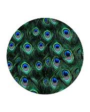Peacock Circle Coaster thumbnail