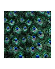 Peacock Square Coaster thumbnail