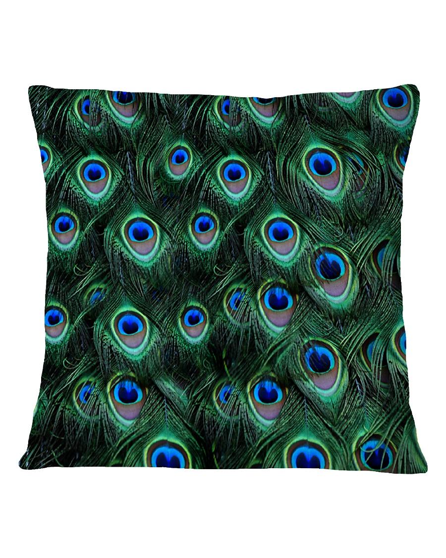 Peacock Square Pillowcase