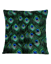Peacock Square Pillowcase front