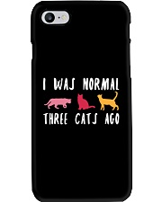 I Was Normal Three Cats Ago Phone Case thumbnail