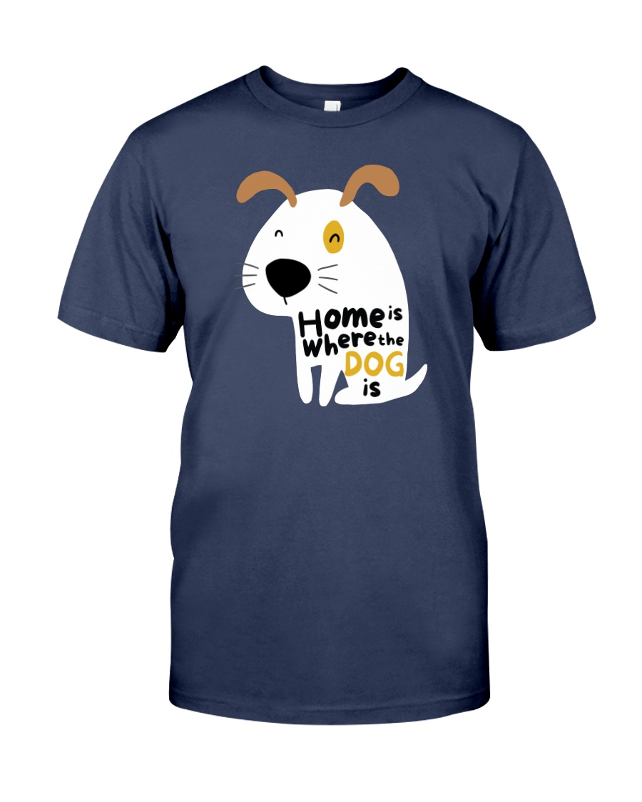 Home is Where the Dog is Premium Fit Mens Tee