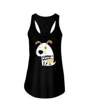 Home is Where the Dog is Ladies Flowy Tank thumbnail