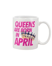 Queens Are Born in April Mug thumbnail