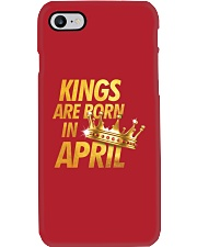 Kings Are Born in April Phone Case thumbnail