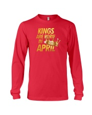 Kings Are Born in April Long Sleeve Tee thumbnail