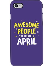 Awesome People Are Born In April Phone Case thumbnail