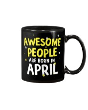 Awesome People Are Born In April Mug thumbnail