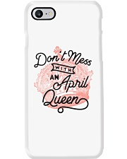 Don't Mess With a April Queen Phone Case thumbnail