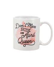 Don't Mess With a April Queen Mug thumbnail