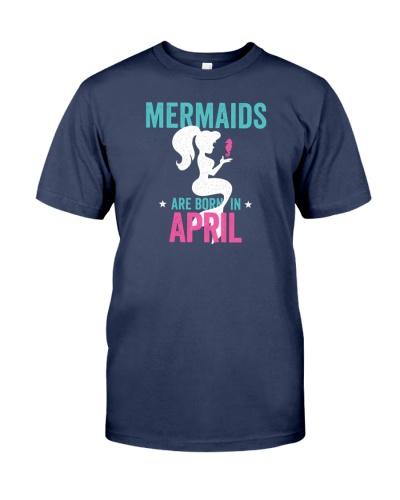 Mermaids Are Born in April