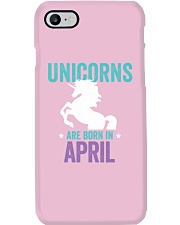 Unicorns Are Born in April Phone Case thumbnail
