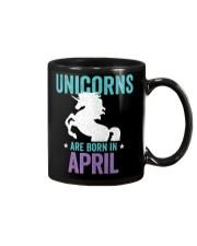 Unicorns Are Born in April Mug thumbnail