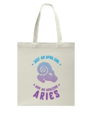 April Girl an Amazing Aries Tote Bag thumbnail