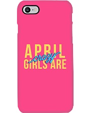 April Girls are Crazy Phone Case tile