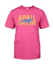 April Girls are Crazy Classic T-Shirt tile