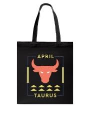 April Taurus Tote Bag thumbnail