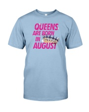 Queens Are Born in August Premium Fit Mens Tee thumbnail