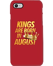 Kings Are Born in August Phone Case thumbnail